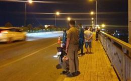 Nữ sinh mặc đồng phục thể dục nhảy cầu Phú Long tự tử