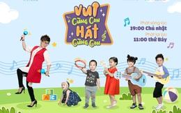 """""""Vui cùng con - Hát cùng con"""", chương trình giúp bé khám phá thế giới qua các bài hát song ngữ"""