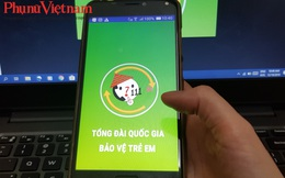 Tổng đài bảo vệ trẻ em 111 mở ứng dụng trên điện thoại thông minh