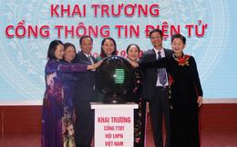 Khai trương Cổng Thông tin điện tử Hội LHPN Việt Nam