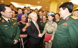 Tổng Bí thư, Chủ tịch nước gặp mặt đại biểu điển hình tiên tiến