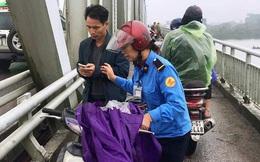 Thiếu tá nhảy xuống sông Lam cứu người phụ nữ tự tử