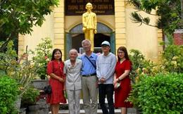 Xúc động với khu tưởng niệm Chủ tịch Hồ Chí Minh của người cựu binh già