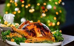 Gà nướng thảo mộc vàng ruộm, thấm đượm gia vị đón lễ Noel