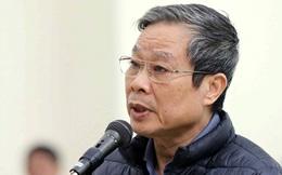 Cựu Bộ trưởng Nguyễn Bắc Son kháng cáo xin giảm án