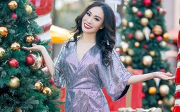 Hoa hậu Trang Lương khoe những shoot ảnh rạng rỡ hậu Giáng sinh