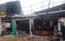 """""""Bà hỏa"""" thiêu rụi siêu thị lúc rạng sáng thiệt hại 3 tỷ đồng"""