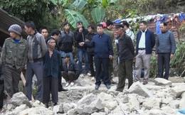 Hiện trường vụ sập tường nhà khiến 5 người thiệt mạng ở Hà Giang