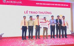 Khách hàng Agribank trúng 01 tỷ đồng Tiết kiệm dự thưởng 'Sinh lợi an toàn – Hàng ngàn giải thưởng'