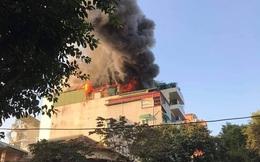 Hà Nội: Cháy quán Karaoke Nhất Thống trên phố Thi Sách