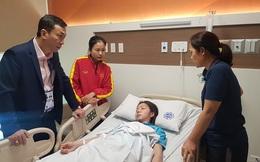 Trung vệ đội bóng đá nữ Việt Nam nhập viện sau chung kết SEA Games 30