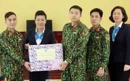 Hội LHPN Việt Nam thăm hỏi, chúc Tết các đơn vị quân đội kết nghĩa chị em