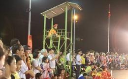 Hấp dẫn, cuốn hút môn thể thao cờ người đầu Xuân ở đất võ Bình Định