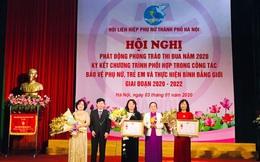 Hội LHPN TP Hà Nội được tặng cờ đơn vị xuất sắc trong phong trào phụ nữ cả nước