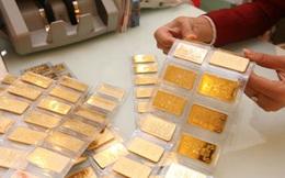 Giá vàng tăng gần 1 triệu đồng/lượng trong phiên giao dịch đầu xuân