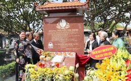 Khánh thành tôn tạo khu mộ nữ tướng Nguyễn Thị Định