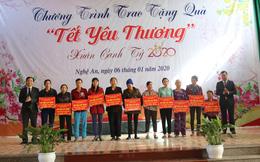 Nghệ An: Trao 11 mái ấm tình thương cho hội viên phụ nữ nghèo huyện Quỳnh Lưu