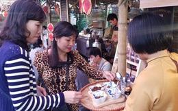 Rộn ràng phiên chợ Tết xưa tại Bảo tàng Phụ nữ Việt Nam