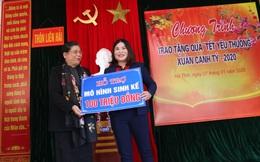 """Chương trình """"Tết yêu thương"""" của Hội LHPN Việt Nam đến với đồng bào vùng ven biển Hà Tĩnh"""