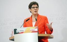 Đức: Nữ Chủ tịch CDU tại nhiệm đến khi có ứng cử viên thủ tướng mới