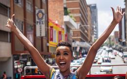 Tân Hoa hậu Hoàn vũ Zozibini Tunzi trở về quê hương Nam Phi