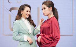 """Huyền My, Bảo Thanh nhí nhố bên lề show """"Những phụ nữ có gu"""""""
