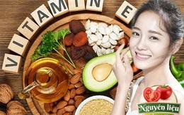 Tác dụng tuyệt vời của Vitamin E trong việc chăm sóc sắc đẹp