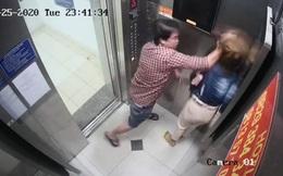 Đề nghị xử lý nghiêm đối tượng đánh đập phụ nữ trong thang máy chung cư