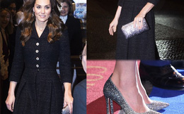 Công nương Kate Middleton giữ vững thương hiệu biểu tượng thời trang đình đám của Hoàng gia Anh