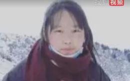 Nữ sinh lên đỉnh núi tuyết 4800m bắt sóng internet để học trong giai đoạn dịch bệnh