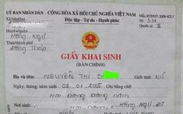 Vụ bé gái bị đưa vào khách sạn, mẹ cháu đã đưa giấy chứng sinh cho xã để làm giấy khai sinh