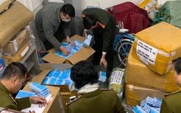 Thu 120.000 khẩu trang y tế chuẩn bị tuồn sang Trung Quốc tiêu thụ