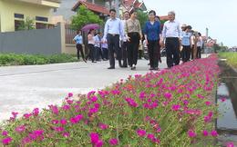 """Bắc Ninh: Đẩy mạnh xây dựng nông thôn mới gắn với """"5 không, 3 sạch"""""""