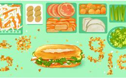 Bánh mì Việt Nam xuất hiện trên trang chủ Google tại 12 quốc gia