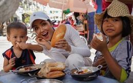 Hoa hậu H'Hen Niê làm vlog giới thiệu bánh mì Sài Gòn