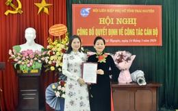 Hội LHPN tỉnh Thái Nguyên có tân Chủ tịch