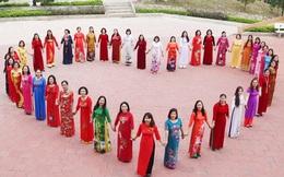Đa sắc áo dài của phụ nữ mọi miền đất nước