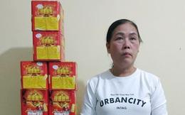 Vĩnh Phúc: Bắt giữ người phụ nữ mua bán, tàng trữ gần 50kg pháo