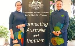 """Tổng lãnh sự Australia tại TPHCM: """"Tôi thích mặc áo dài Việt Nam trong các sự kiện quan trọng"""""""