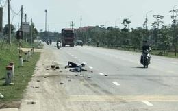Hai mẹ con bị xe tải tông tử vong trên đường về quê
