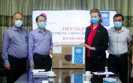 UNDP hỗ trợ Việt Nam 20.000 khẩu trang ngoại khoa chất lượng cao