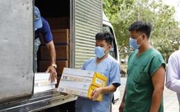 7.200 ly sữa tươi TH true MILK đến với lực lượng chống dịch và người dân Hải Dương