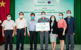 Tập đoàn Y khoa Hoàn Mỹ tài trợ trang thiết bị y tế trị giá 1 tỷ đồng cho Bình Thuận