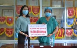 Quảng Ngãi: Cán bộ Hội quyên góp ủng hộ y bác sỹ