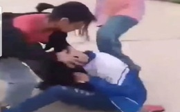 Triệu tập nhóm nữ sinh đánh hội đồng bạn ở Nghệ An