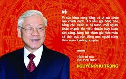Tổng Bí thư, Chủ tịch nước Nguyễn Phú Trọng kêu gọi toàn dân hiến máu tình nguyện
