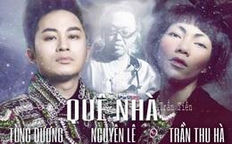 Tùng Dương cùng Hà Trần, Nguyên Lê làm MV ca nhạc xuyên biên giới trong mùa dịch