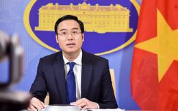 Việt Nam phản đối việc Trung Quốc tự ý đặt tên 80 thực thể ở Biển Đông