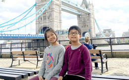 """Đại sứ Anh cảm ơn 2 trẻ em Việt Nam tặng 20.000 khẩu trang cho """"xứ sở sương mù"""""""