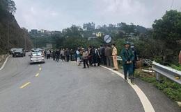 Ô tô va chạm với xe máy trên núi Tam Đảo, 4 người tử vong